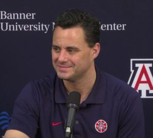 Arizona Head Coach, Sean Miller